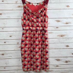 Anthropologie Moulinette Soeurs silk dress size 8